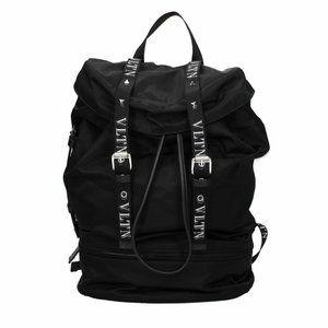 NEW Valentino Garavani VLTN Black backpack